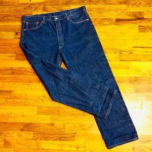 Levi's 501xx button up vintage jeans Size 40x32